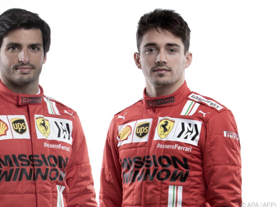 Leclerc und Sainz sollen Ferrari wieder siegfähig machen