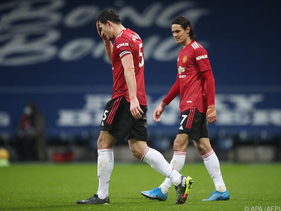 Maguire und Cavani ärgern sich über zwei verlorene Punkte