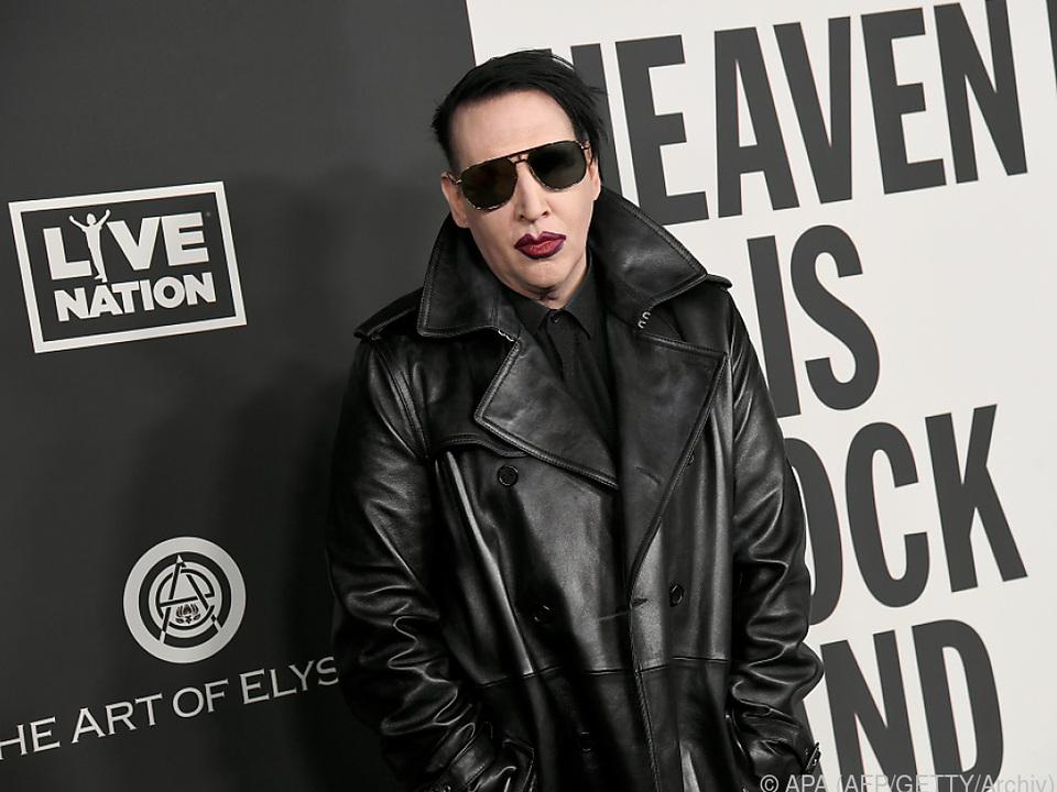 Mansons Plattenlabel distanzierte sich bereits von ihm