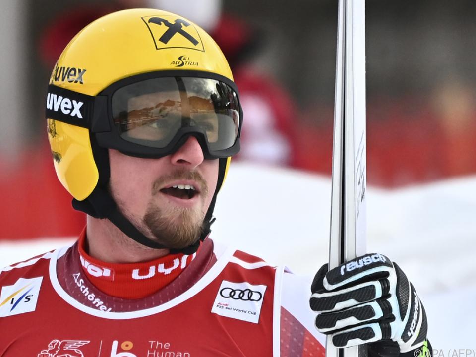 Max Franz am Donnerstag Schnellster im Garmisch-Training (Archivbild)