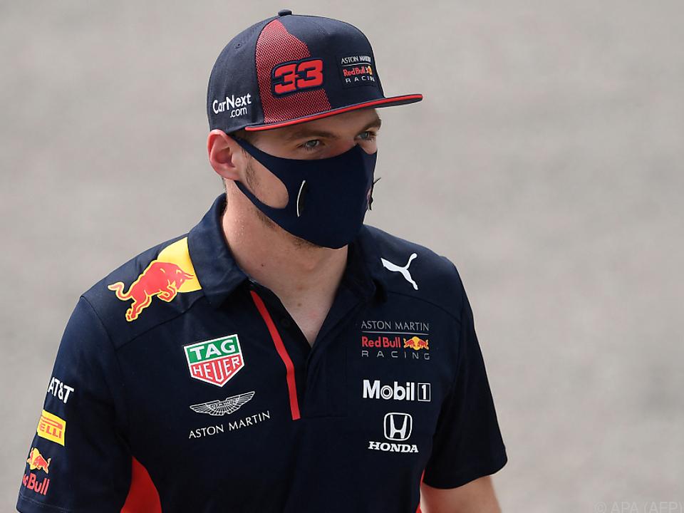 Max Verstappen hofft auf ein Erfolgsjahr mit Red Bull