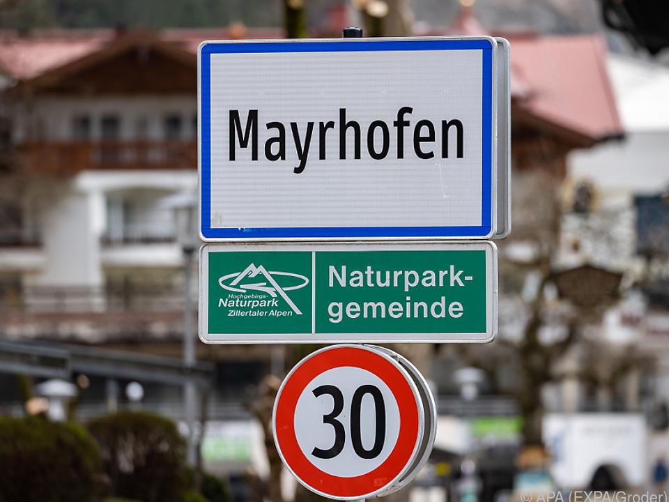 Mayrhofen darf nur mehr mit negativem Corona-Test verlassen werden