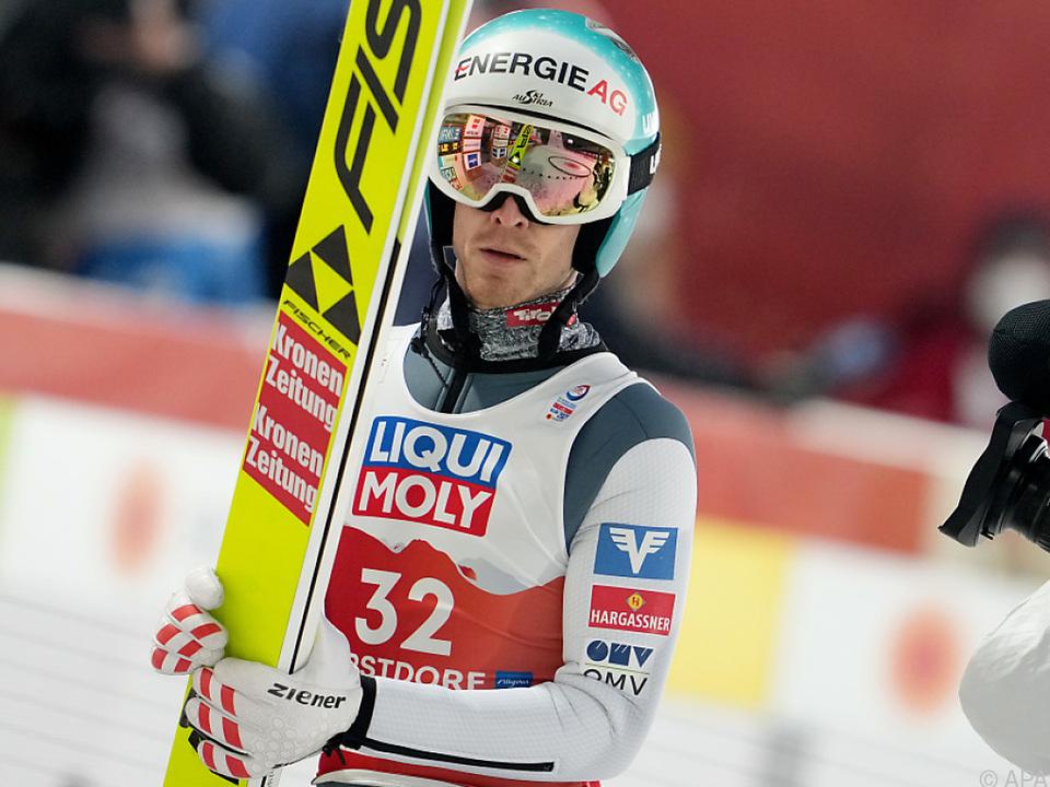 Michael Hayböck durfte nach Rang sieben noch am ehesten zufrieden sein