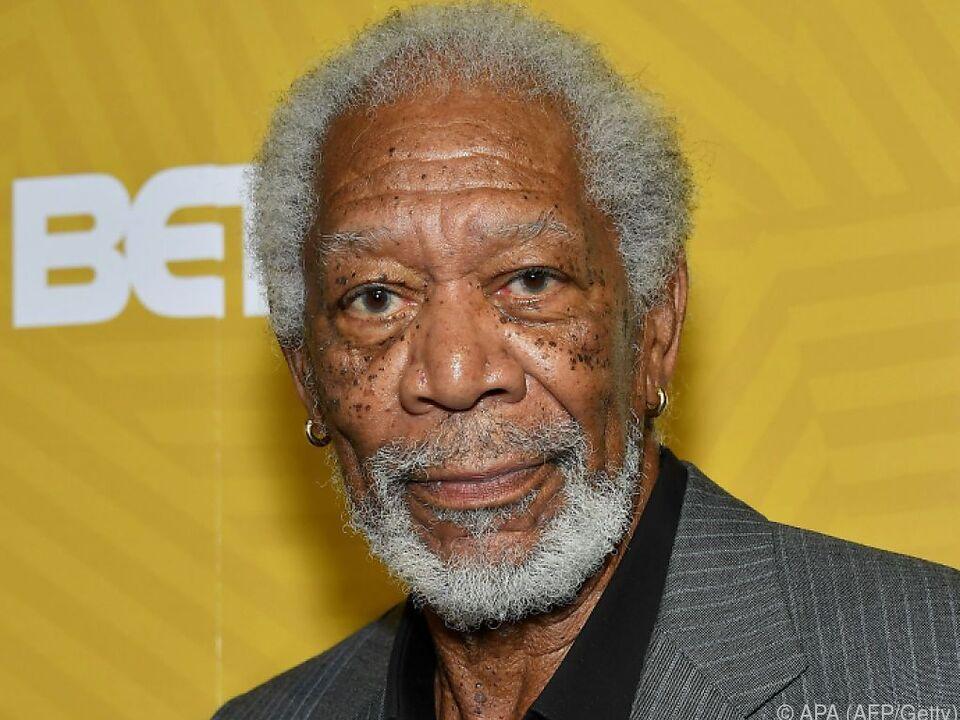 Morgan Freeman gedachte der verstorbenen Aktrice