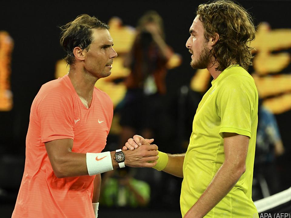 Nadal fand im Viertelfinale in Tsitsipas seinen Meister