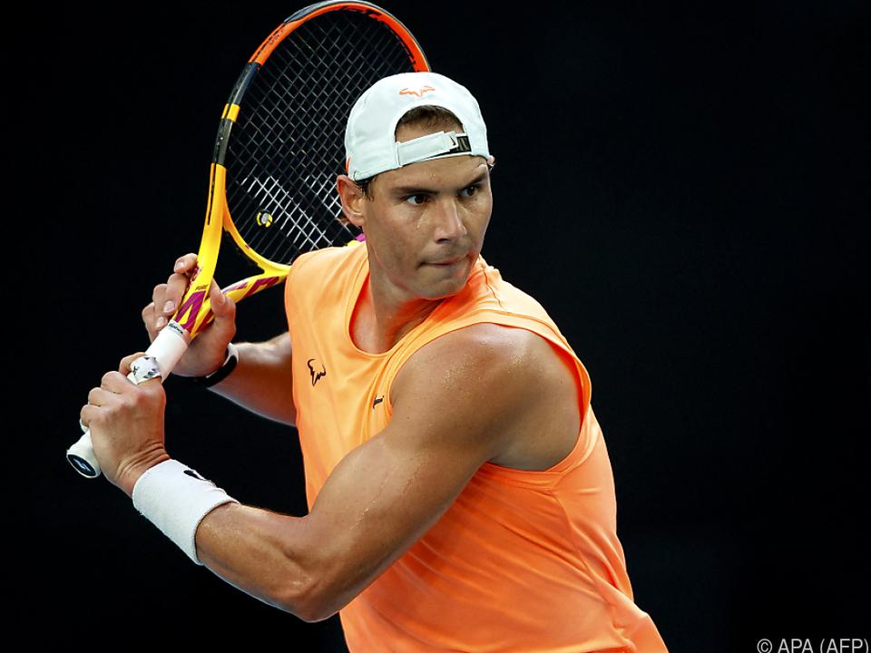 Nadal in erster Runde in Melbourne ungefährdet