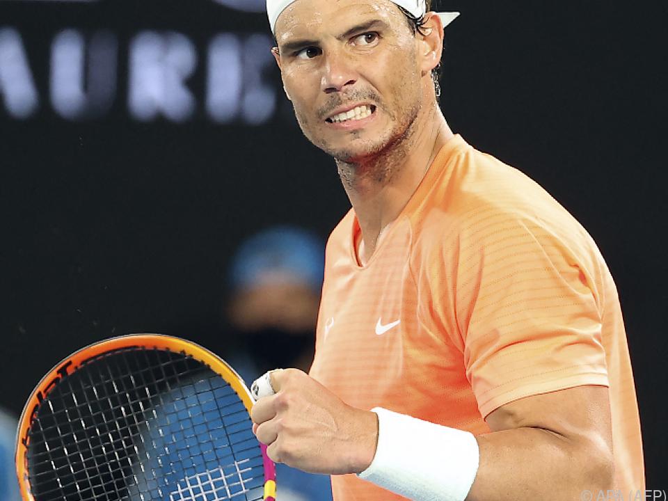 Nadal ohne Satzverlust im Melbourne-Achtelfinale