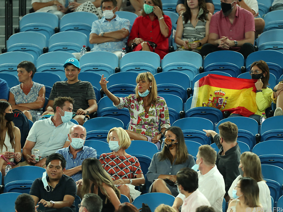 Nadal wurde bei Sieg von Zuschauerin beflegelt