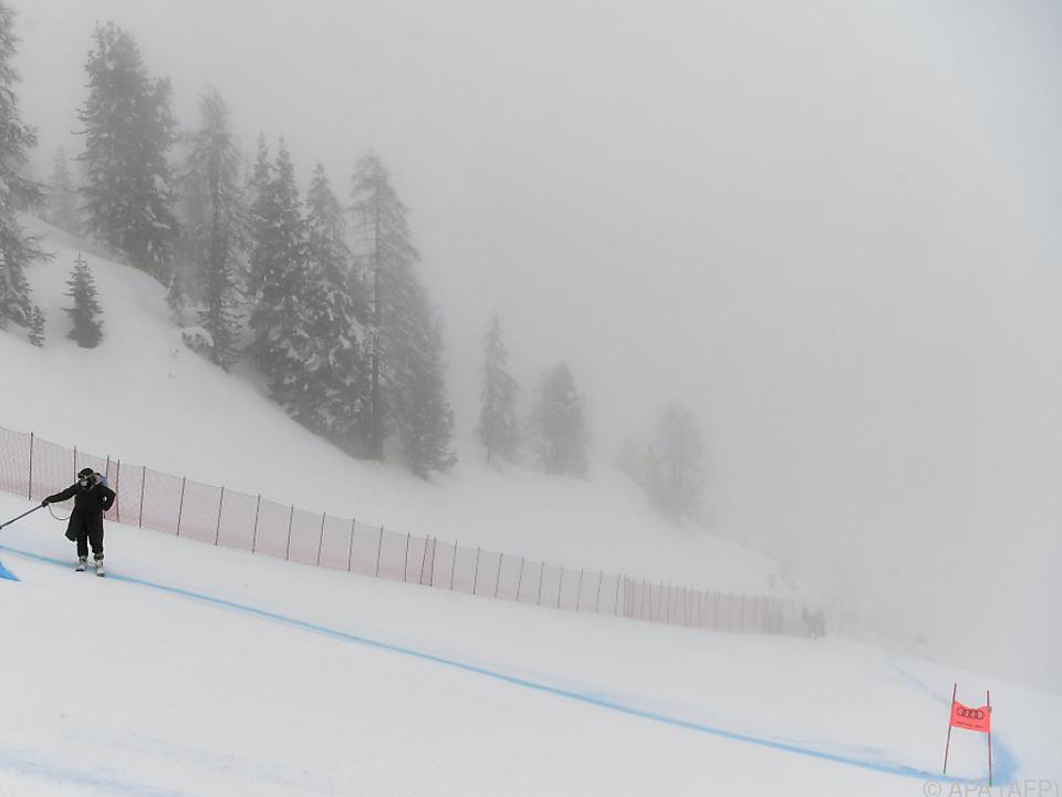Nebel am Dienstag, am Mittwoch soll es wieder kräftig schneien