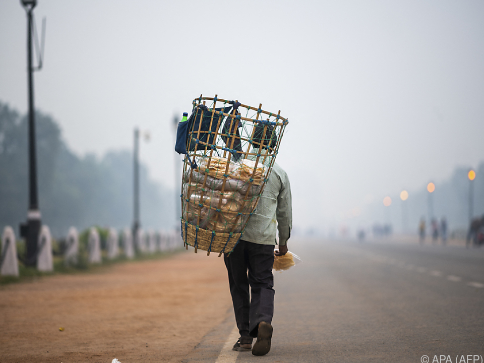 Neu-Delhi leidet am meisten unter Lufverschmutzung
