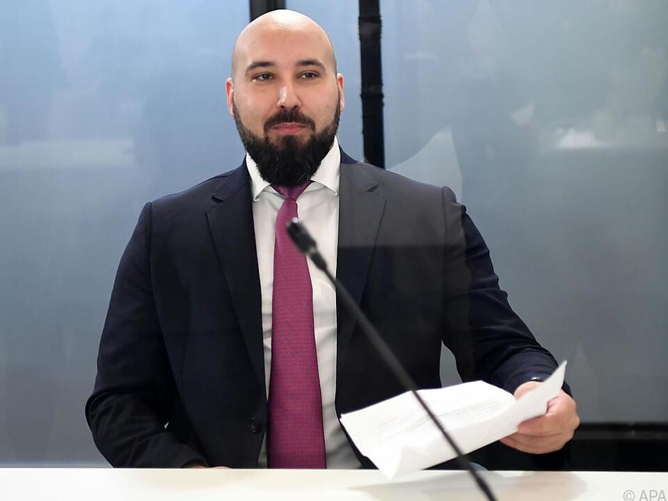 Nikolaus Kern im Ibiza-Untersuchungsausschuss