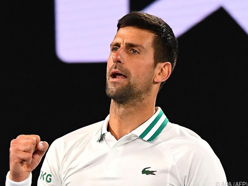Novak Djokovic besiegte Milos Raonic auch im zwölften Duell