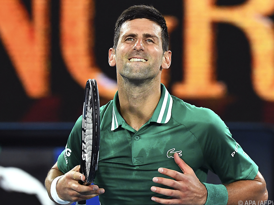 Novak Djokovic wurde seiner Favoritenrolle gerecht