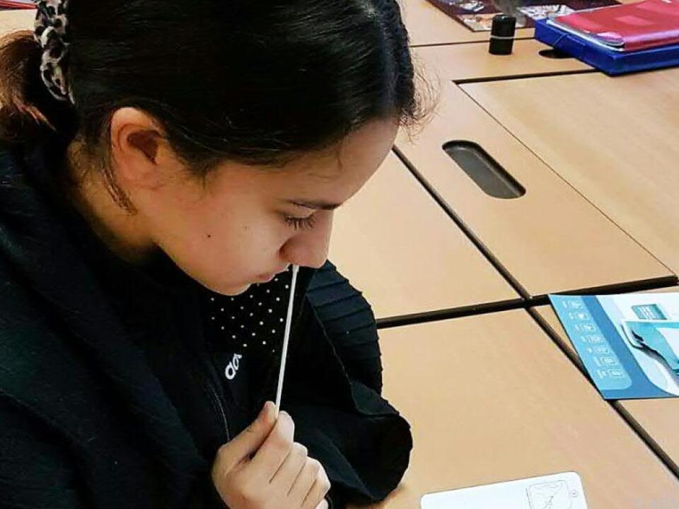 Nur getestete Schüler dürfen in den Präsenzunterricht