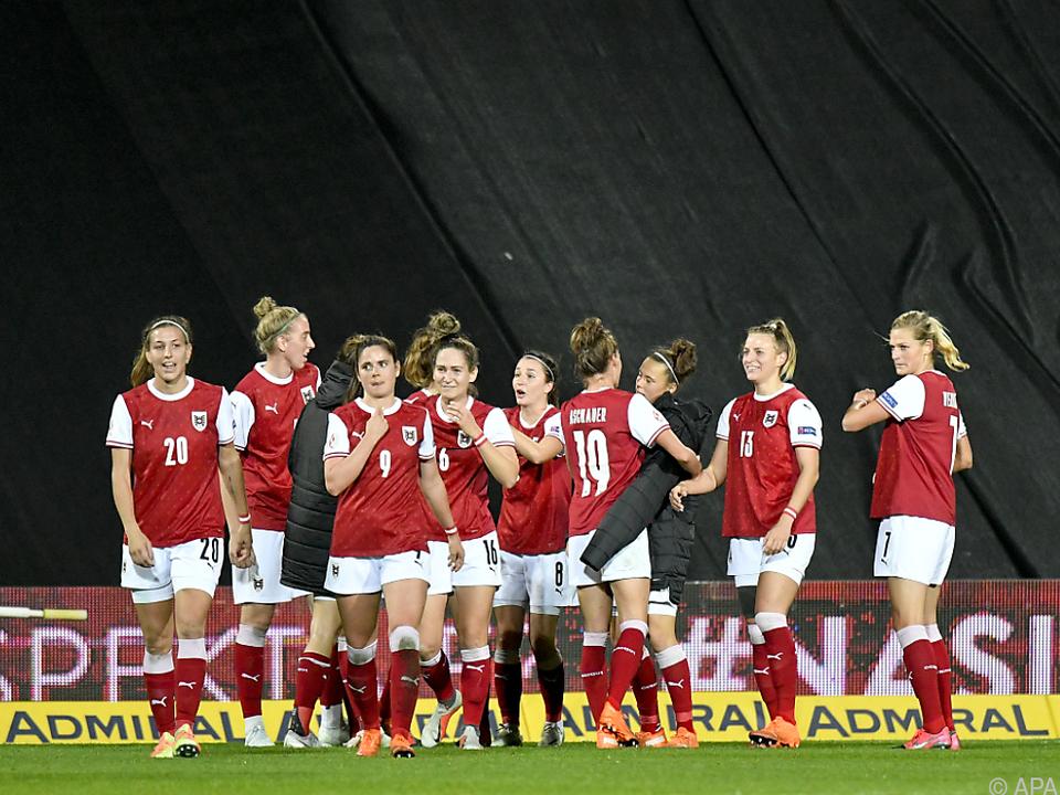 Österreichs Frauen-Nationalteam darf sich freuen