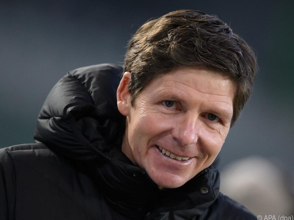 Oliver Glasner hat derzeit mit Wolfsburg viel zu lachen