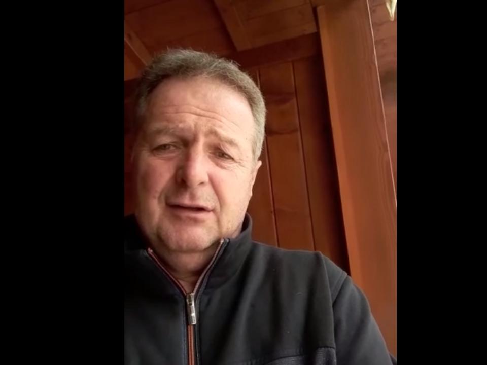 """Spatzen-Chef"" Norbert Rier mit Corona infiziert – VIDEO - Suedtirol News"