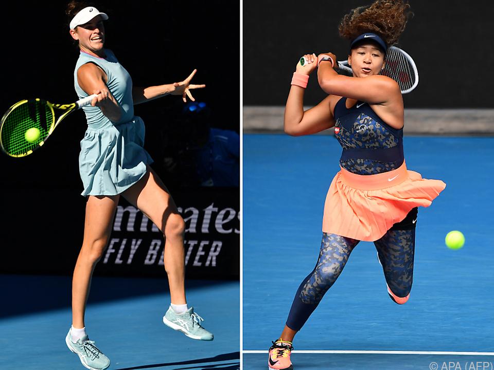 Osaka ist im Damen-Finale in Melbourne gegen Brady Favoritin