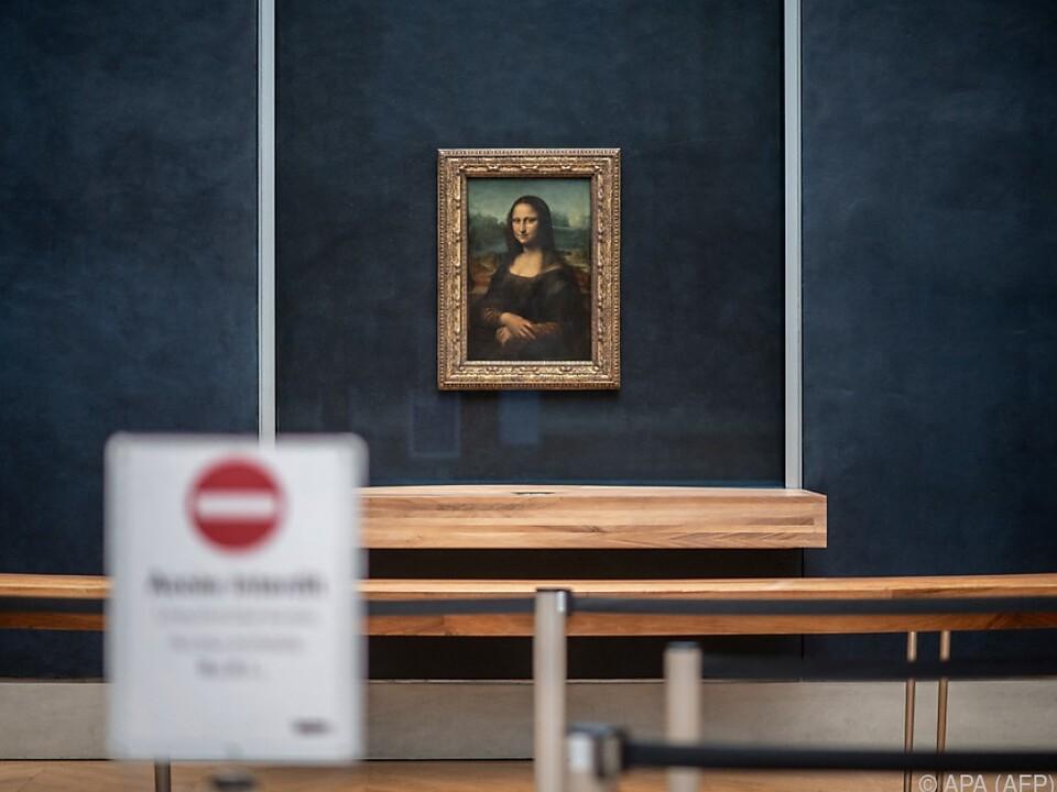 Pariser Louvre weiterhin geschlossen
