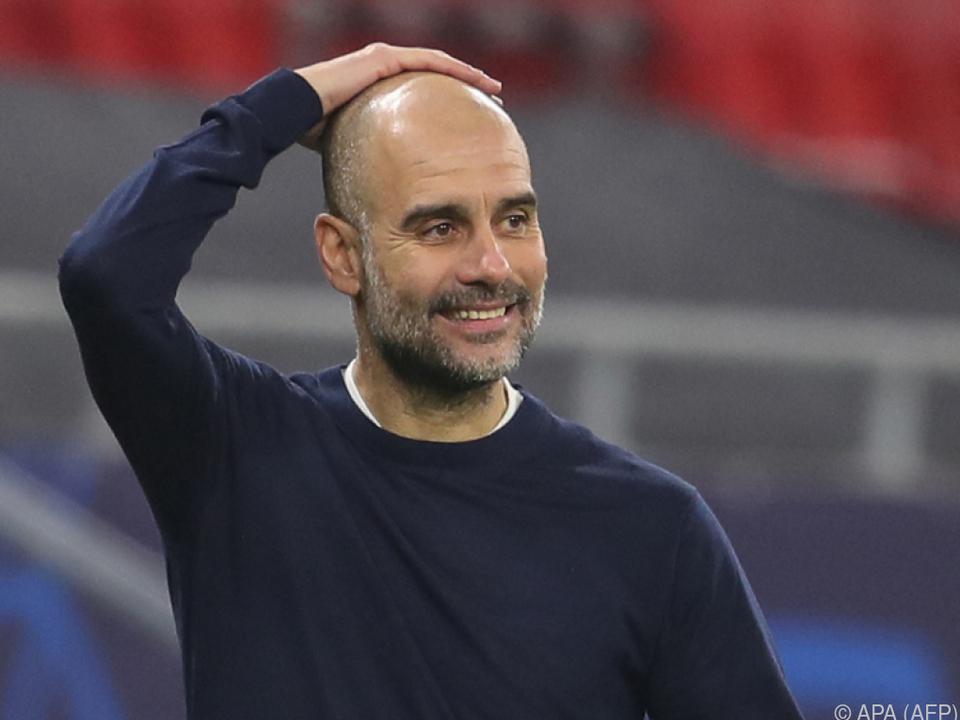 Perfektionist Guardiola war trotz 2:0 nicht zufrieden
