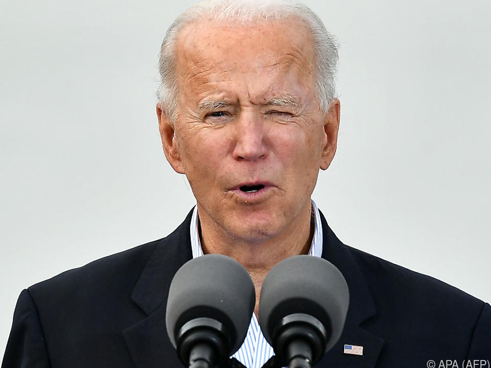 Präsident Joe Biden richtet die Iran-Politik der USA neu aus