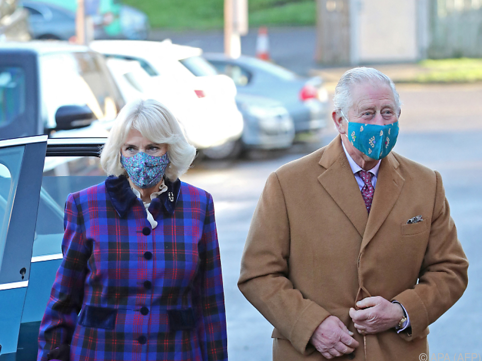 Prinz Charles und Ehefrau Camilla gehören zur Risikogruppe