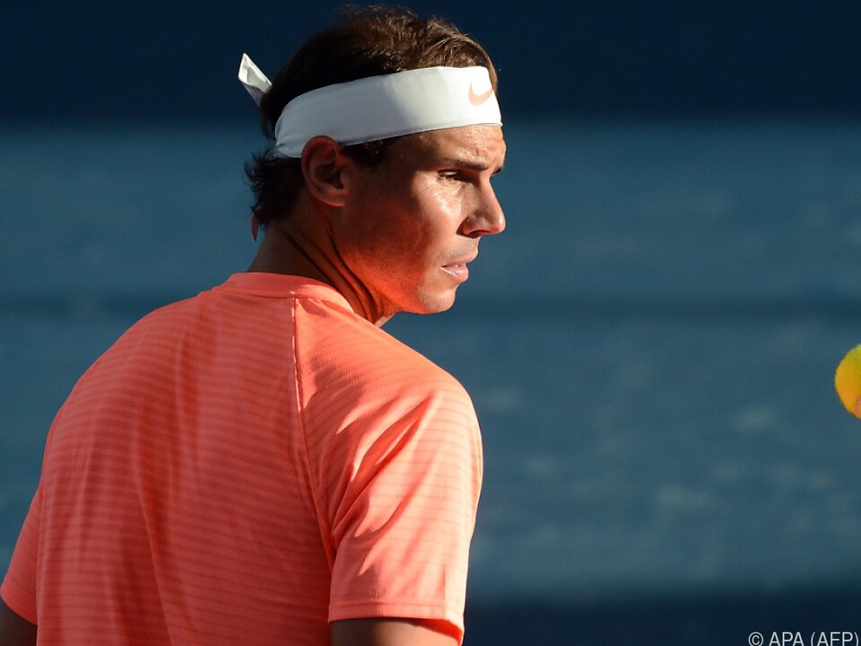 Rafael Nadals Rücken spielte nicht mit