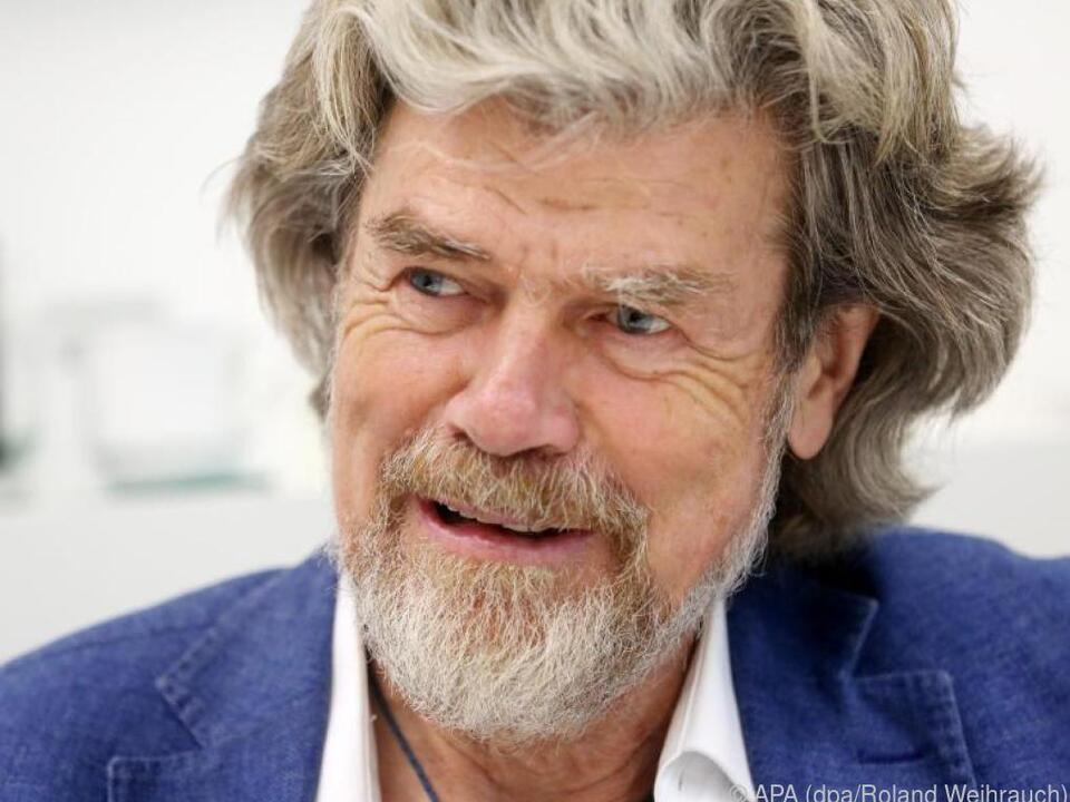 Reinhold Messner kommt mit wenigen sozialen Kontakten gut klar