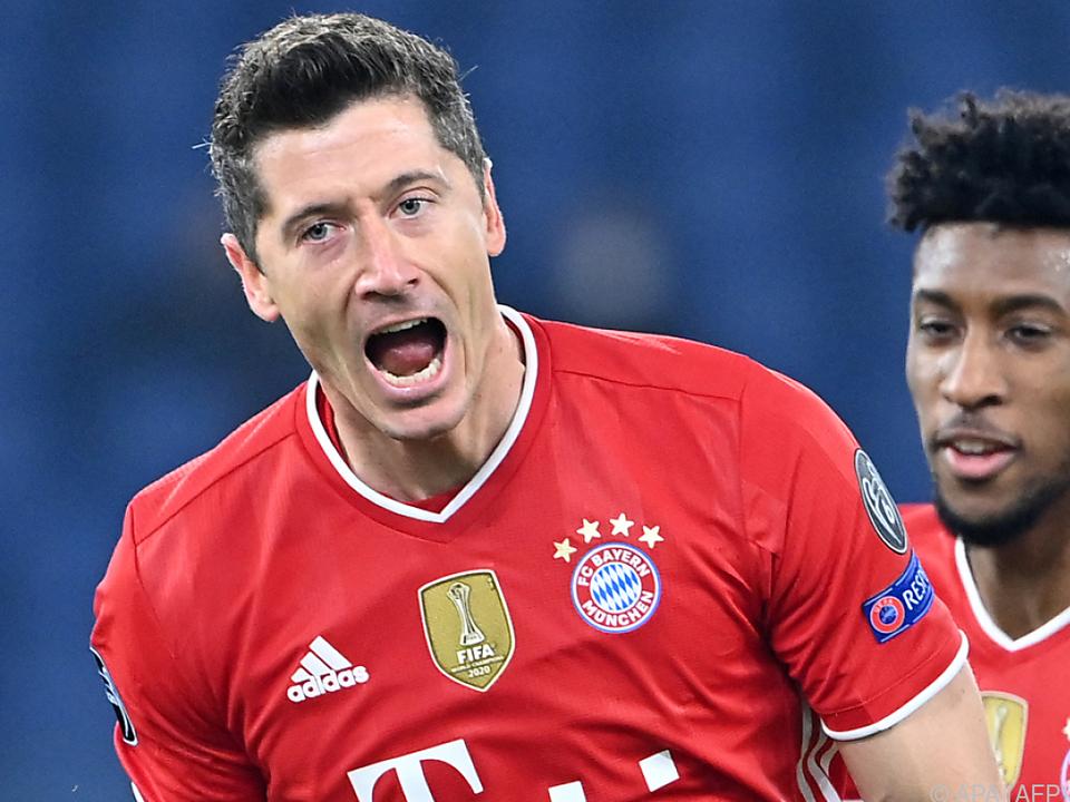 Robert Lewandowski leitete den klaren Bayern-Auswärtssieg ein