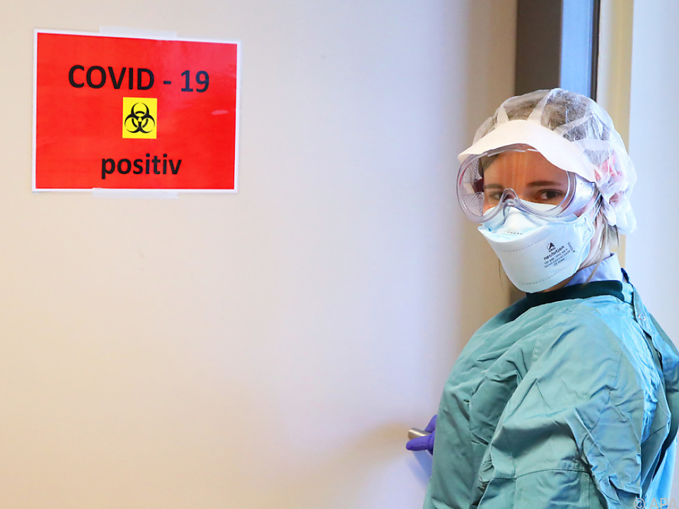 Rückgang bei Covid-Patienten im Spital