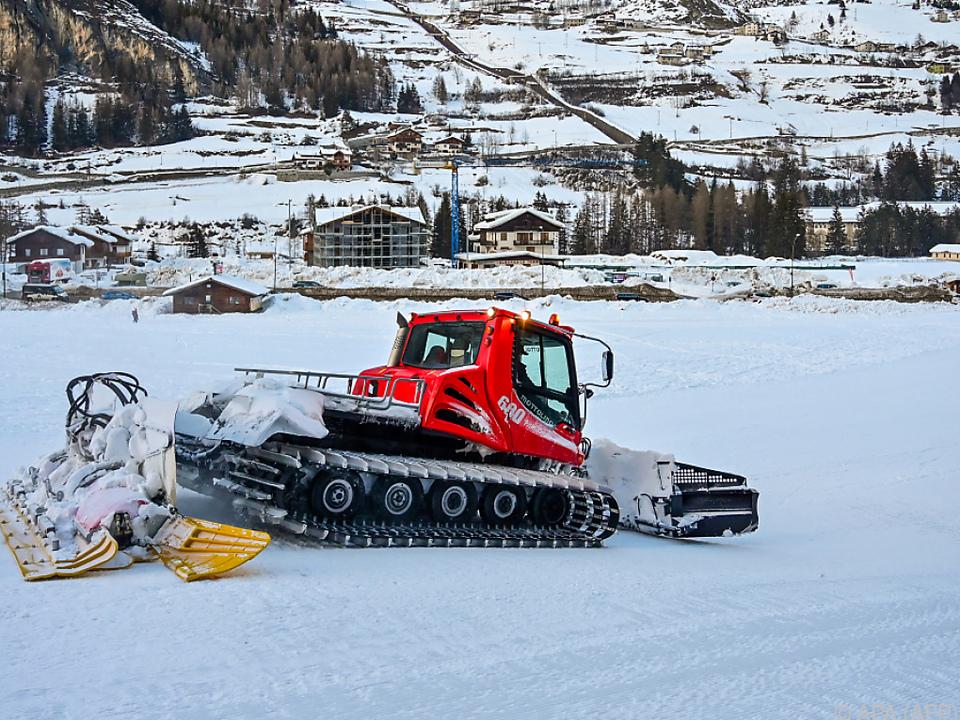 Rückschlag für italienische Skigebiete