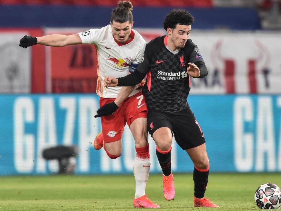 Sabitzer verschuldete bei Leipzigs 0:2 gegen Liverpool erstes Gegentor