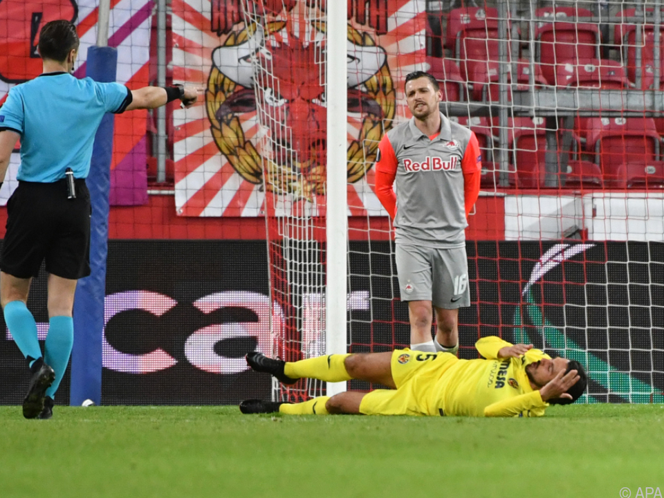 Salzburg unterlag Villarreal im EL-Hinspiel mit 0:2