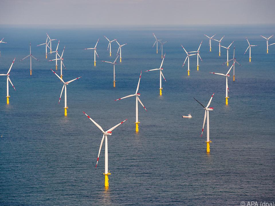 Schon jetzt wird in der Nordsee viel Strom erzeugt