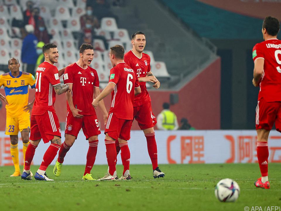 Sechster Titel für Alaba und die Bayern
