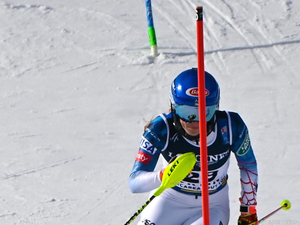Shiffrin raste mit Slalom-Bestzeit zu WM-Gold in der Kombi