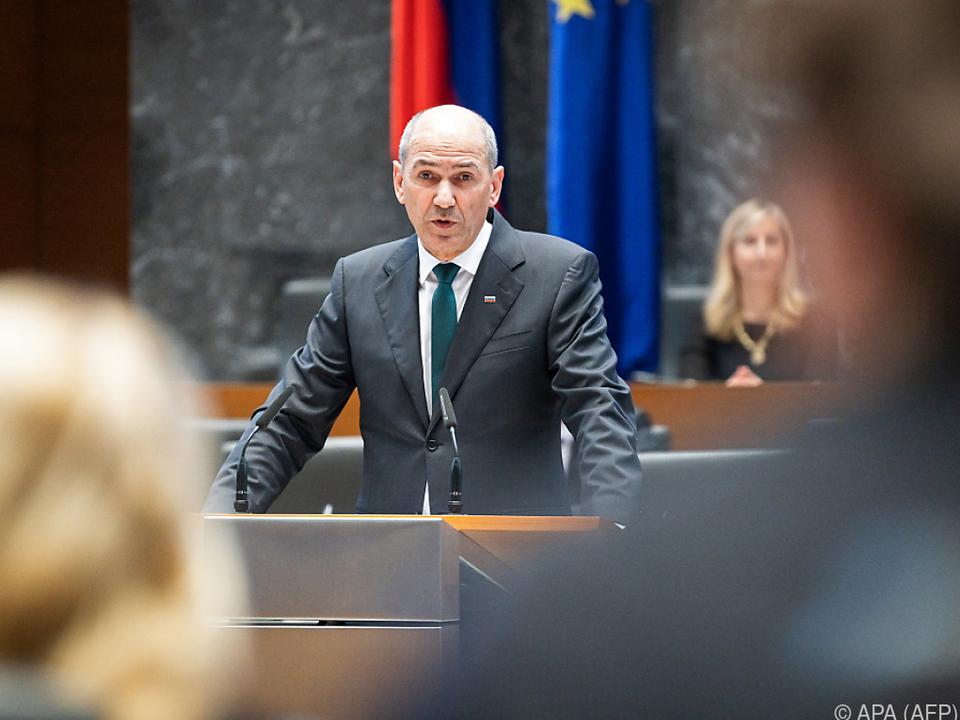 Sloweniens Premier Jansa kann weitermachen