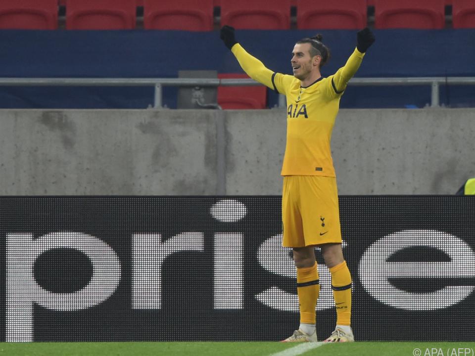 Spielte gegen den WAC von Beginn an und traf: Tottenhams Gareth Bale