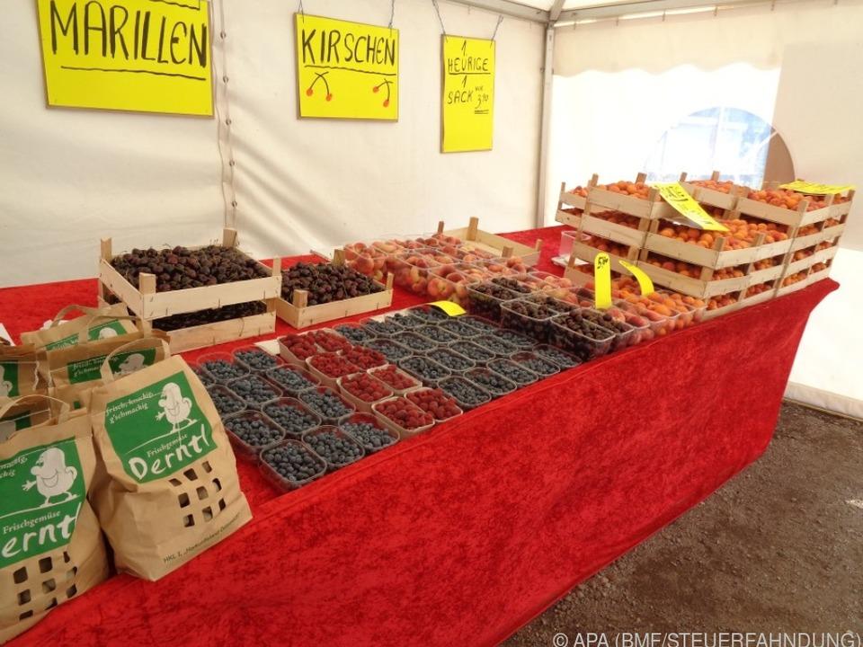 Steirer hat Millionen Euro mit Obstständen hinterzogen