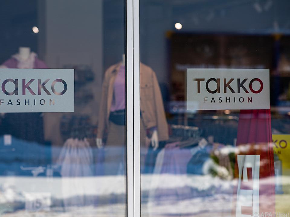 Takko-Geschäfte in Deutschland wegen des Lockdowns weiter zu