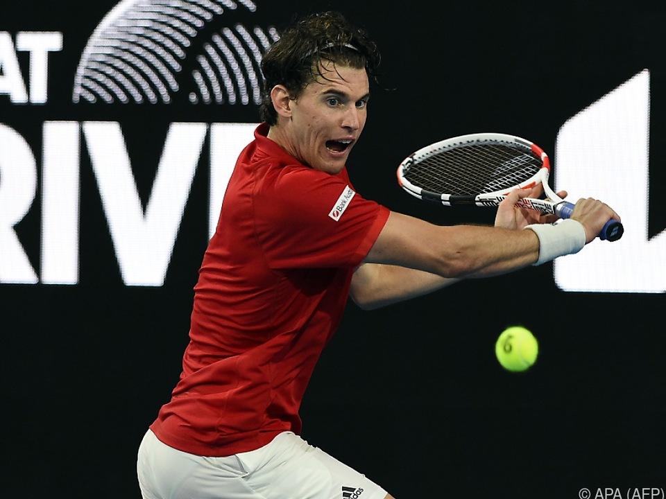 Thiem will sich vor Australian Open nicht schonen