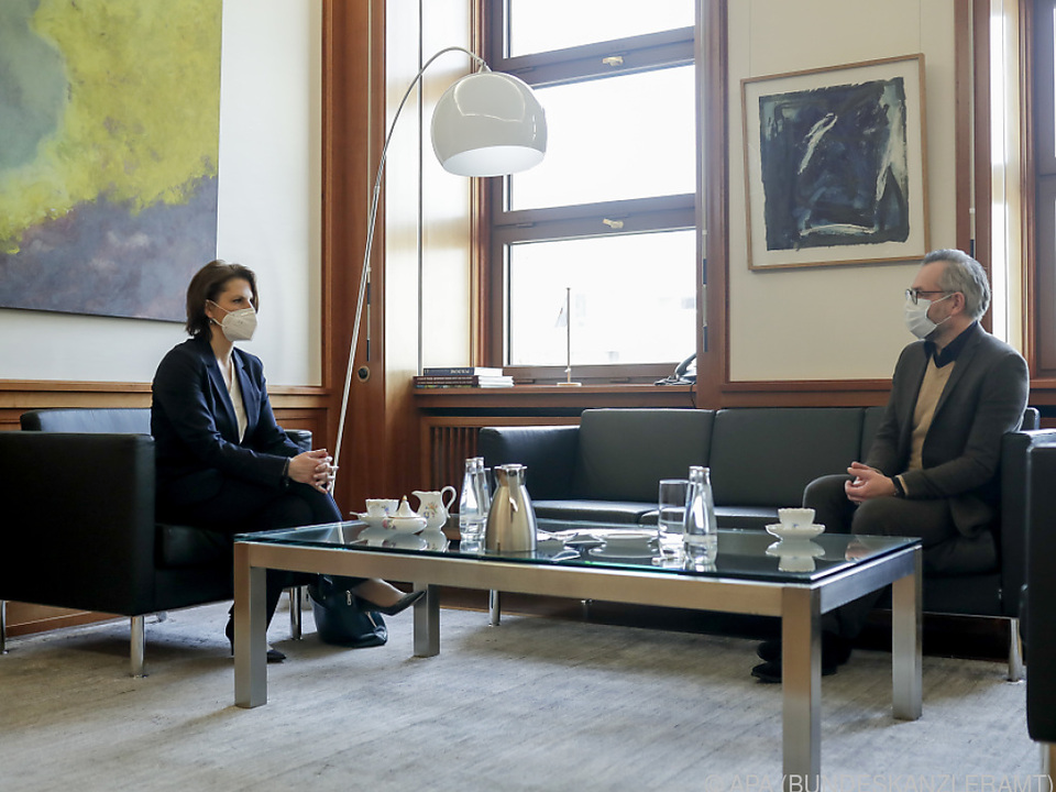 Treffen mit deutschem Europa-Staatsminister Roth