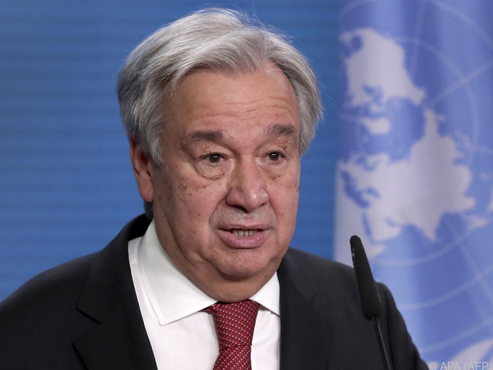 UNO-Generalsekretär Guterres nimmt Kurs auf zweite Amtszeit