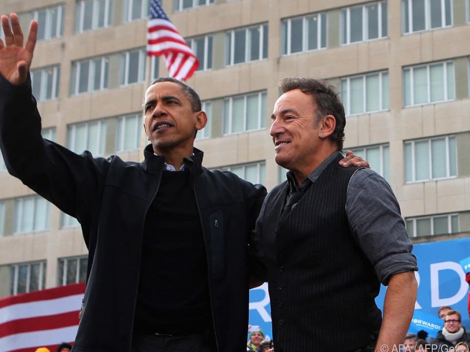 Unterhaltungen zwischen Obama und Springsteen