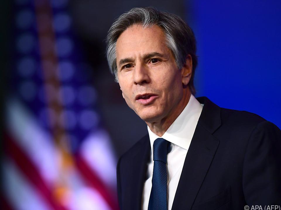 US-Außenminister Blinken will Russland zu Rechenschaft ziehen