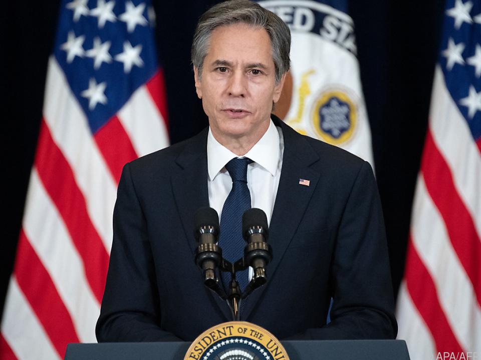 US-Außenminister Blinken