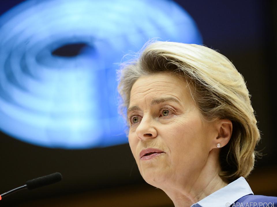Von der Leyen stand dem EU-Parlament Rede und Antwort