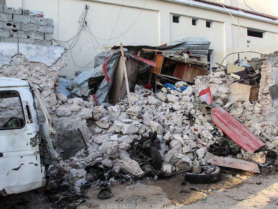Wieder Anschlag in Somalia - Mindestns 13 Tote