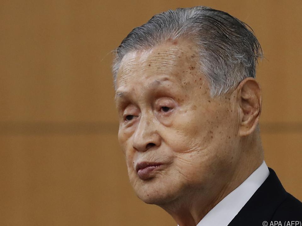 Yoshiro Mori ist in Tokio weiter im Kreuzfeuer der Kritik