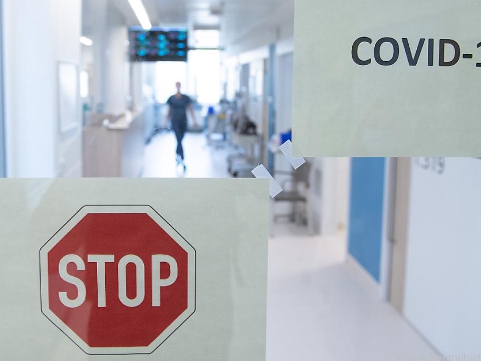 Zahl der Intensivpatienten rückläufig